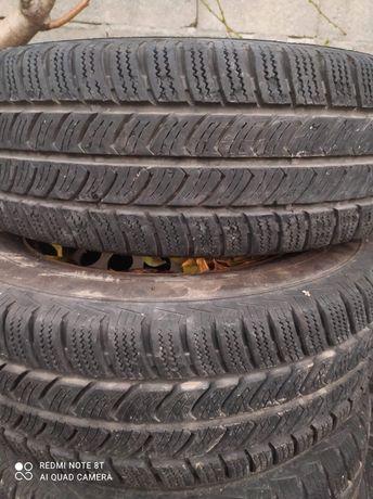 Бусови зимни гуми с джанти