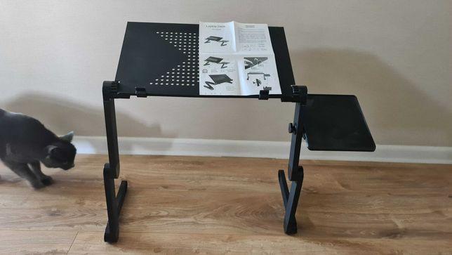 Регулируемый алюминиевый столик для ноутбука