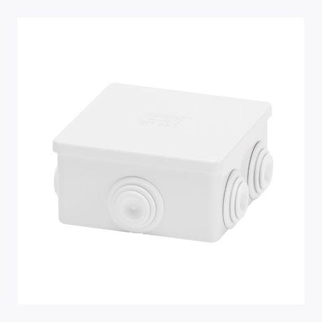 Коробка монтажная распределительная 6 вводов IP44 размер 80 x 80 x 40