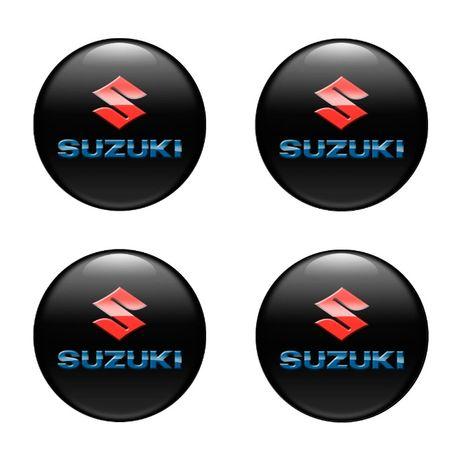 3D Силиконови стикери за капачки на джанти Suzuki размери 40-120 мм