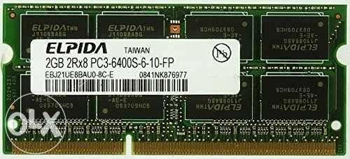 Memorie RAM 2Gb DDR3 Laptop 800MHZ PC3-6400S-6-10-FP Notebook SODIMM