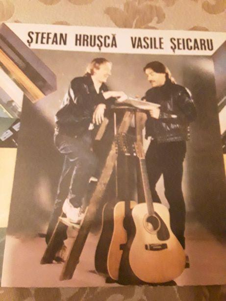 Discuri vinil Stefan Hrusca si Vasile Seicaru. NOU.