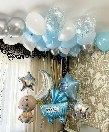 Шар , гелиевые шарики,  шары на выписку,  на день рождения, подарок
