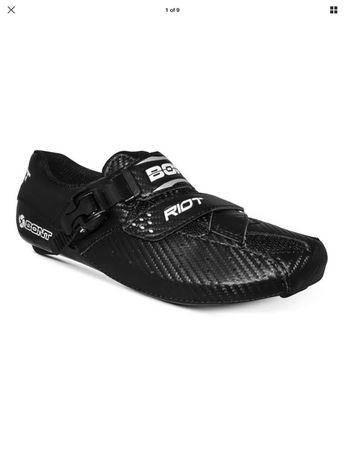 Pantofi bicicleta sosea Carbon Bont Riot 39 NOI cursiera ciclism