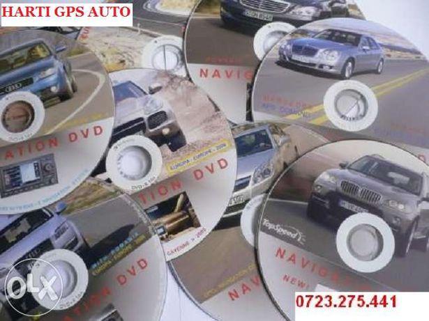 CD DVD NAVIGATIE HARTI AUTO Harti Gps Resoftari Gps Navigatie Harti