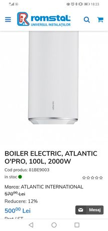 Boiler electric Atlantic o'pro 100l