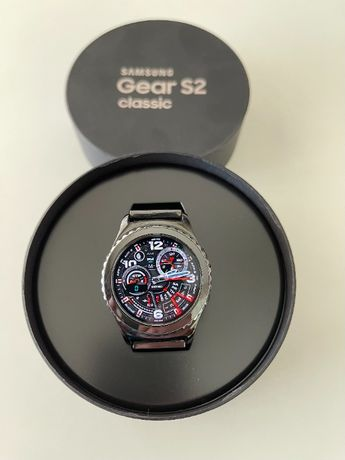 Smart watch - Samsung Gear S2 classic - ceramic chain