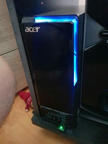 Desktop Acer Aspire X3812 Intel Core 2 Quad Q8300 4GB DDR3 HDD 500