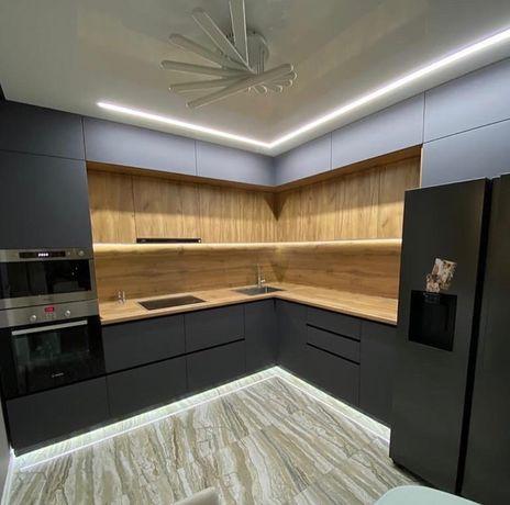 Кухонная мебель на заказ . Кухня ЛДСП, кухонные гарнитуры акрил. Шкаф