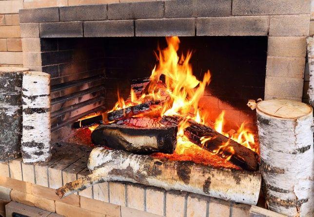 Берёзовые дрова для камина - это лучший выбор