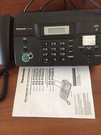 Продается факс в отличном состоянии