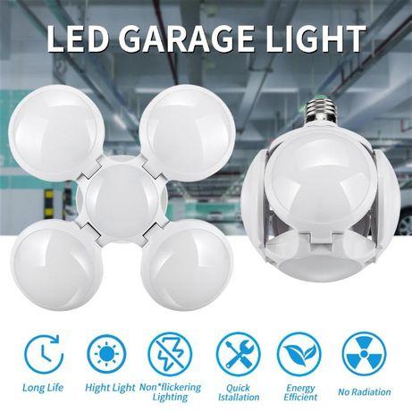 Мощна сгъваема сверична лампа 40W