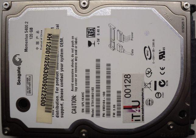 "Hard Disk-HDD Sata 2,5"" HDD-120 Gb Seagate ST9120821AS Refurbished"