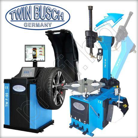 Комплект Баланс машина за гуми с лазер и Монтаж демонтаж машина