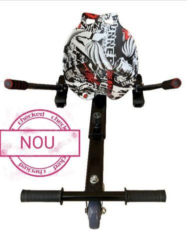 Hoverkart mov street cu scaun pentru toate modelele de hoverboard-uri