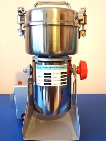 Rasnita Moara cafea condimente cereale zahar 800g 2500W 36000 rpm Inox