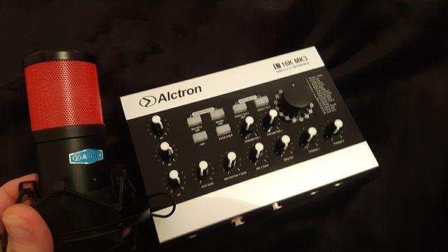 Продам USB Звуковую карту Alctron U16K MK3 + Микрофон Alctron cs35