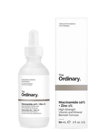 Niacinamida 10% + zinc 1% The Ordinary, 60 ml