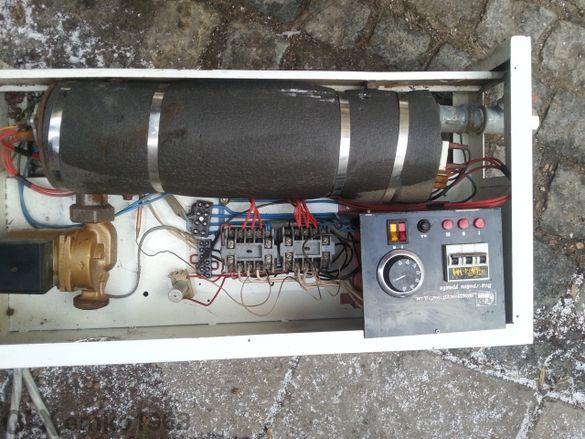 електрическо парно с разширителен съд