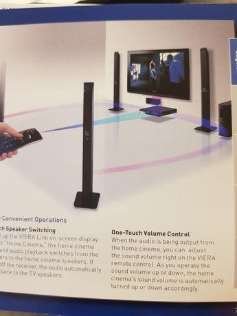 Sistem home cinema Panasonic si combina muzicala LG