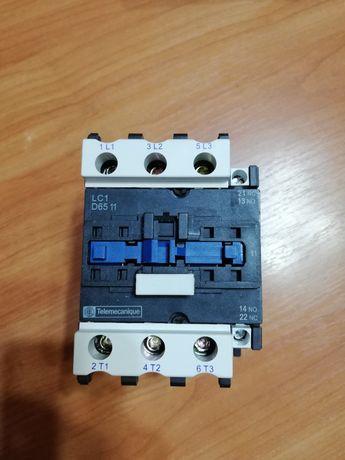 Пускатель Schneider electric. 65 Ампер, 220V.(LC1-D6511)