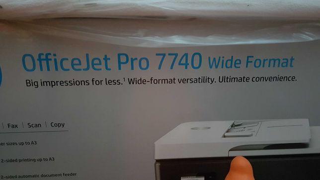 Multifunctional HP OfficeJet pro 7740