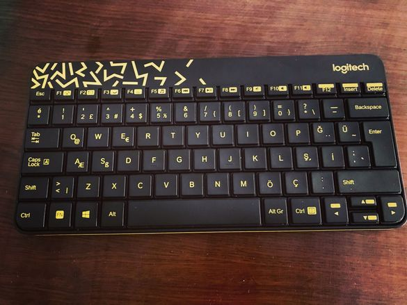 Безжична клавиатура и мишка МК240 NANO