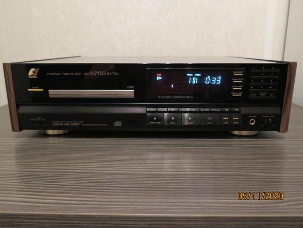 Винтажный CD-проигрыватель Sansui CD-a717D Extra