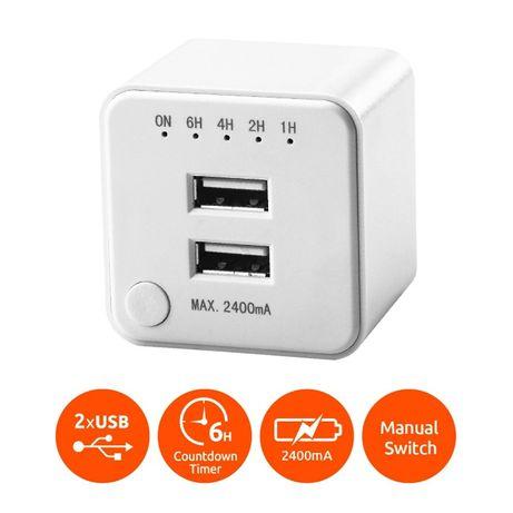 USB зарядно с вграден таймер SOLOGIC