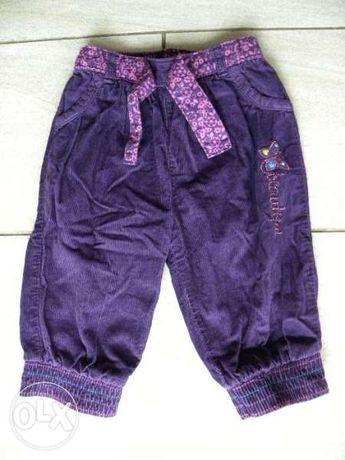 Бебешки джинси George, подплатени, 6-9 месеца