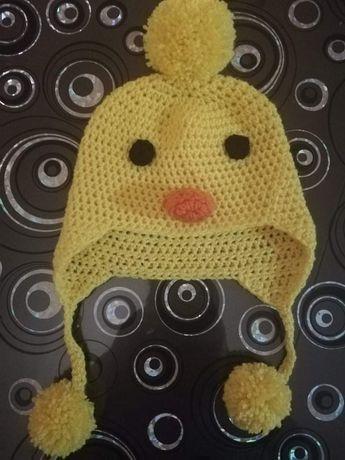 Ръчно плетена шапка Пате