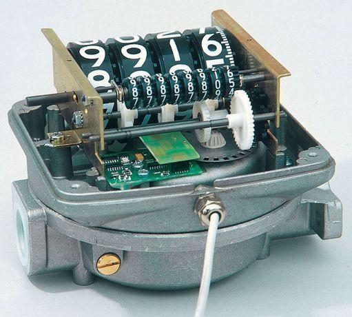 Debitmetru contor mecanic motorina K44 pulser