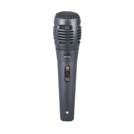 Microfon karaoke SM-338, cablu 1.5 m, Negru