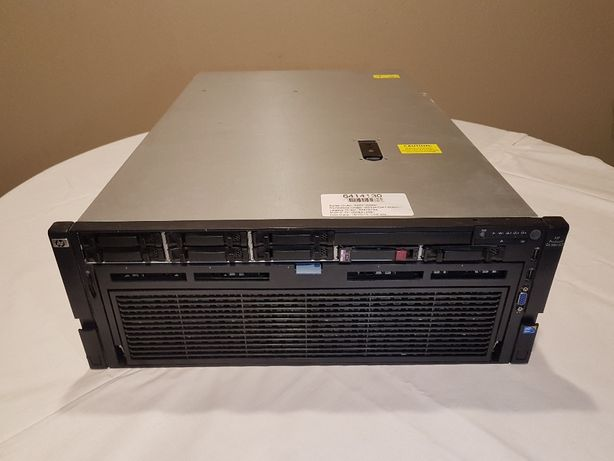Server Xeon HP ProLiant DL580 G7, 4 x 10 Cores, 64 GB Ram, SSD 128