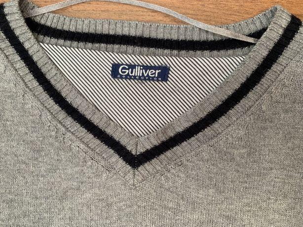 Свитер кофта полувер Gulliver на 8-10 лет, рост 134-140 см