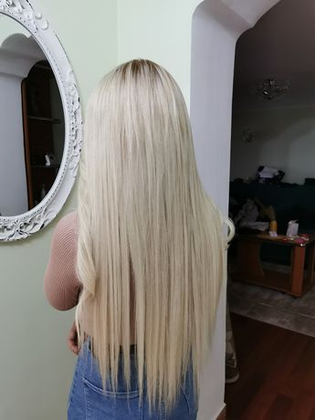 Aplic extensii de par, Tratament Keratina Cocochocoo, Hair botox