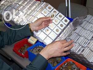 Colectie 100 monede / monezi Europa