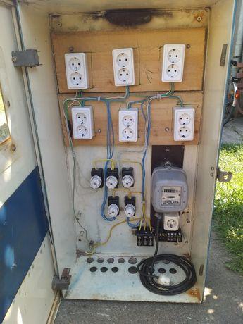Panou electric pentru santier