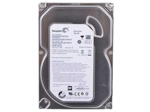 """HDD 500GB, Seagate ST500DM002/ Sata 6 Гбит/c/ 3.5""""/ 7200rpm/ 16Mb/"""