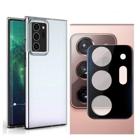 Samsung NOTE 20 NOTE 20 Ultra - Pachet Folie Camera + Husa Silicon