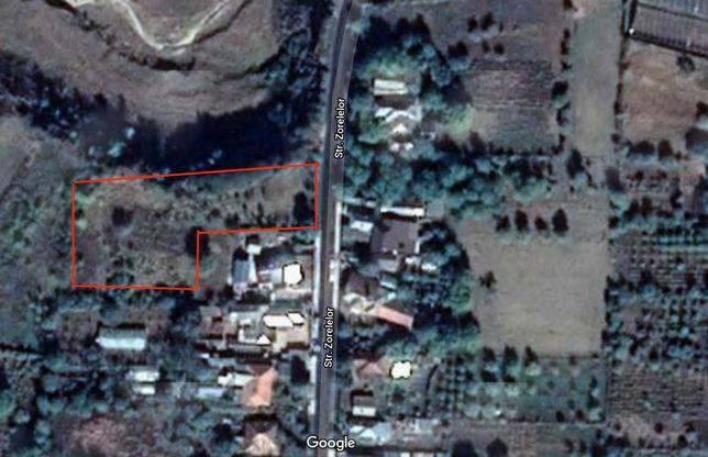 teren de vanzare Oreavu jud. Buzau