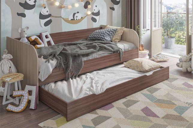 Кровать трансформер Балли, Шимо темный/Шимо светлый, Стендмебель