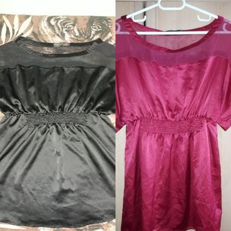 Дамска блузка в два цвята