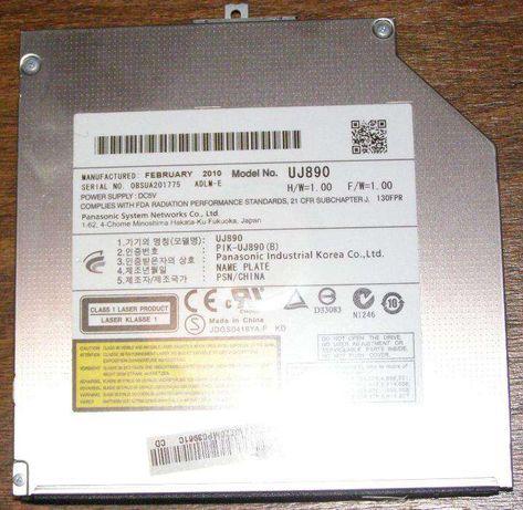 Unitate optica laptop, DVD-RW DL 8x, s-ata