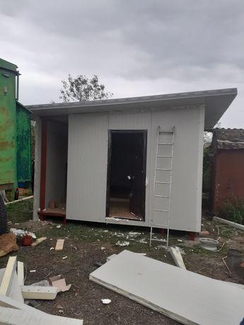 Vand container tip casă de locuit 8x6