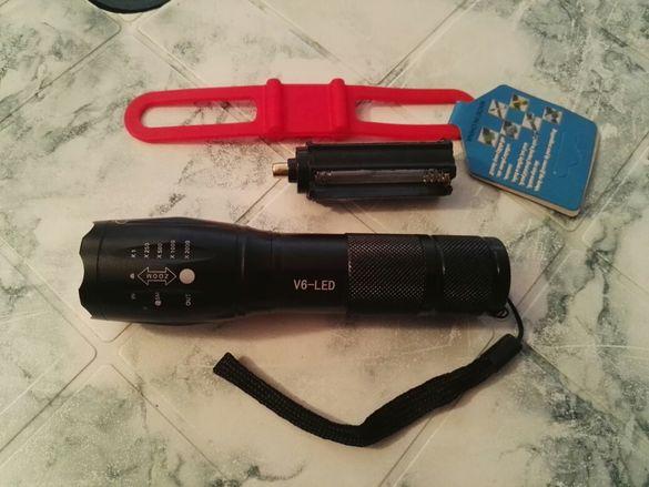 Фенер LED мощен прожектор, модел V6