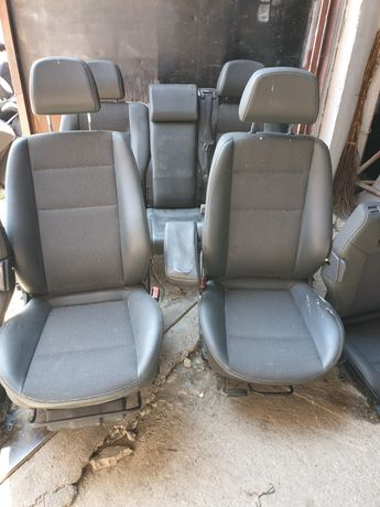 Scaun scaune fata banchete semi piele Opel Zafira B 6+1 locuri