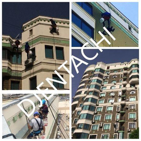 Покраска фасадов в Алматы и РК