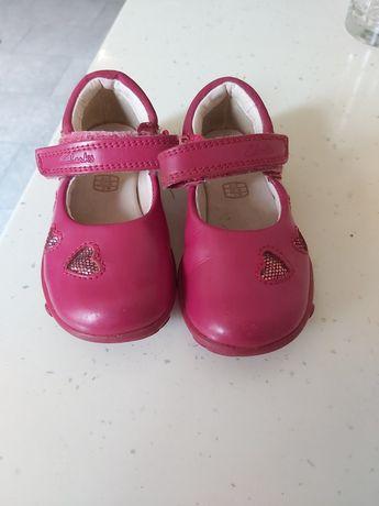 Pantofi Clarks,pentru fetite,marimea 20,5,cu luminite in talpa
