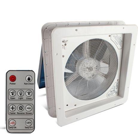 Trapa NOUA ventilator telecomanda 6 viteze IN-OUT rulota autorulota